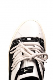 ELISABETTA FRANCHI |  Leather sneakers Averi | white  | Picture 6