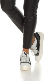 ELISABETTA FRANCHI |  Leather sneakers Averi | white  | Picture 3