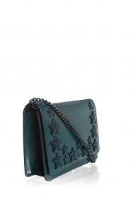 ELISABETTA FRANCHI |  Shoulder bag with studs Noel | green  | Picture 3
