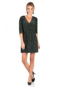 Sessun | Korte jurk Futuna | groen  | Afbeelding 3