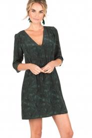 Sessun | Korte jurk Futuna | groen  | Afbeelding 2