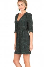 Sessun | Korte jurk Futuna | groen  | Afbeelding 4