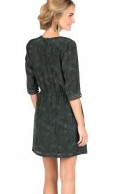 Sessun | Korte jurk Futuna | groen  | Afbeelding 5