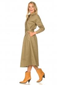 JC Sophie    Popline midi dress Elza   green    Picture 3