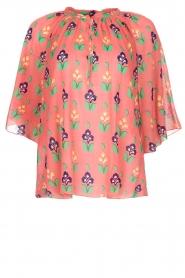 Antik Batik   Blouse Mia   roze    Afbeelding 1