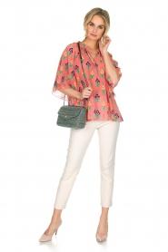 Antik Batik   Blouse Mia   roze    Afbeelding 3