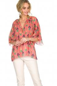 Antik Batik   Blouse Mia   roze    Afbeelding 6