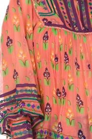 Antik Batik | Blouse Mia | roze  | Afbeelding 7