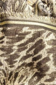 Becksöndergaard |  Scarf with leopard print and glitters Esther | animal print  | Picture 5