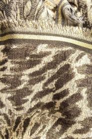 Becksöndergaard | Sjaal met luipaardprint en glitterdetails Esther | dierenprint  | Afbeelding 4
