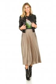 JC Sophie | Pleaded skirt Eddinburgh | grey  | Picture 4