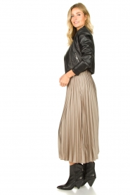 JC Sophie | Pleaded skirt Eddinburgh | grey  | Picture 5