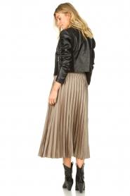 JC Sophie | Pleaded skirt Eddinburgh | grey  | Picture 6