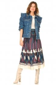 ba&sh |  Printed midi skirt Maris | multi  | Picture 3