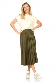JC Sophie | Pleaded skirt Eddinburgh | green  | Picture 3