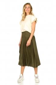JC Sophie | Pleaded skirt Eddinburgh | green  | Picture 2