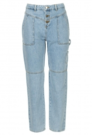 ba&sh |  Cargo jeans Tanguy | blue  | Picture 1