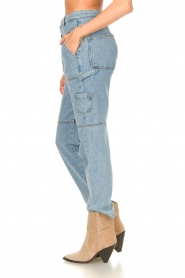 ba&sh |  Cargo jeans Tanguy | blue  | Picture 6