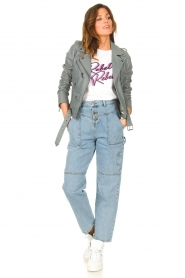 ba&sh |  Cargo jeans Tanguy | blue  | Picture 2