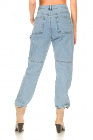 ba&sh |  Cargo jeans Tanguy | blue  | Picture 7