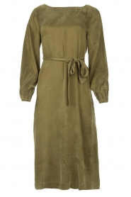 JC Sophie |  Cupro dress Elliery | green  | Picture 1