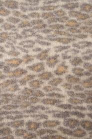 Becksöndergaard | Sjaal met luipaardprint Racie | grijs  | Afbeelding 3