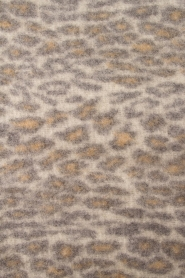 Becksöndergaard |  Scarf with leopard print Racie | grey  | Picture 4