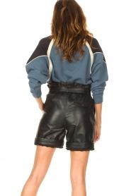 ba&sh |  Cotton sweater Brick | blue  | Picture 7