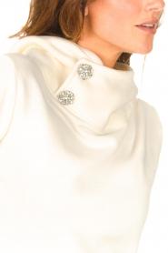 ba&sh |  Sweater with rhinestones Daren | ecru  | Picture 8