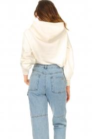 ba&sh |  Sweater with rhinestones Daren | ecru  | Picture 7