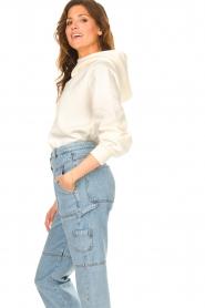 ba&sh |  Sweater with rhinestones Daren | ecru  | Picture 6