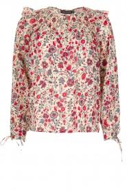 Antik Batik | Blouse Annie | Rood  | Afbeelding 1
