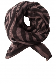 Becksöndergaard |  Scarf Stripes | black
