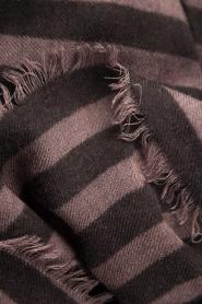 Becksöndergaard | Sjaal Stripes | zwart  | Afbeelding 3