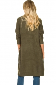 JC Sophie |  Soft knitted cardigan Estevania | green  | Picture 7