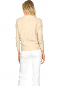 JC Sophie |  Knitted sweater Estebana | beige  | Picture 7