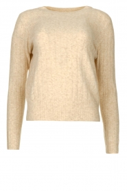 JC Sophie |  Knitted sweater Estebana | beige  | Picture 1