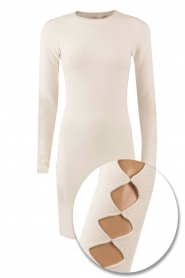 NIKKIE |  Fitted dress Jula | white   | Picture 1