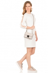 NIKKIE |  Fitted dress Jula | white   | Picture 3