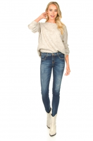 JC Sophie :  Knitted sweater Ethel | grey - img3