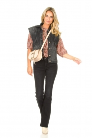 ba&sh |  Floral top Isaure | red  | Picture 3