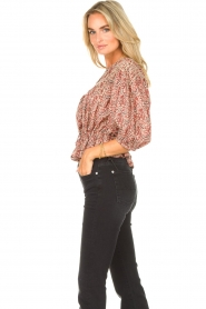 ba&sh |  Floral top Isaure | red  | Picture 6