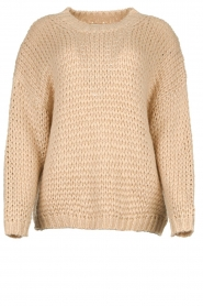 JC Sophie | Knitted sweater Edison | beige  | Picture 1