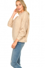 JC Sophie | Knitted sweater Edison | beige  | Picture 6