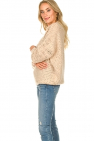 JC Sophie | Knitted sweater Edison | beige  | Picture 5