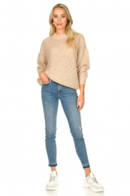 JC Sophie | Knitted sweater Edison | beige  | Picture 3