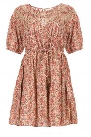 ba&sh |  Dress with drawstrings Iris | pink  | Picture 1