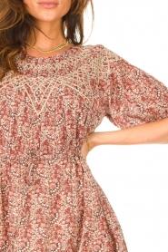 ba&sh |  Dress with drawstrings Iris | pink  | Picture 7