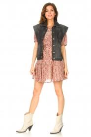 ba&sh |  Dress with drawstrings Iris | pink  | Picture 3