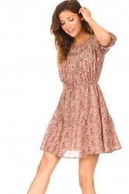 ba&sh |  Dress with drawstrings Iris | pink  | Picture 4